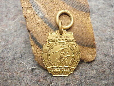 Vintage Medal/a.a.u. Athletic Test  Medal/presented By  Sport Story Magazine/
