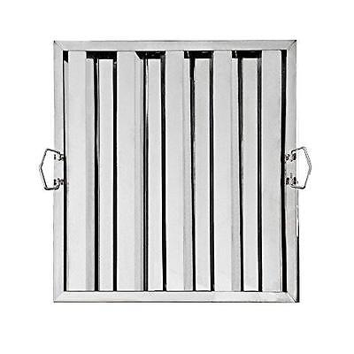 """New Star Foodservice 54378 Stainless Steel Hood Filter, 20"""" x 20"""" New"""