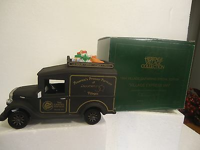 Dept 56 accessories - Village Express Van 1994 Special Edition, mint in box
