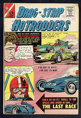 1965 Charlton Drag-Strip Hotrodders #7 VG