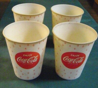 Set Of 4 Vintage 9 Oz Things Go Better With Coke