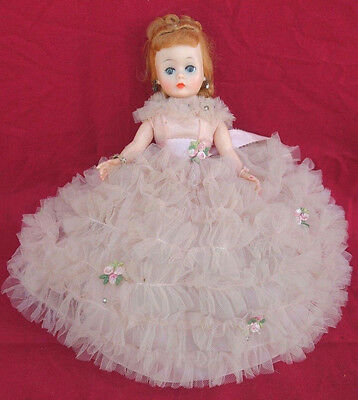 Beautiful Madame Alexander Cissette Doll In Gown All Original 1950's