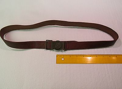 Boy Scouts of America Official Leather Belt and Bronze Buckle