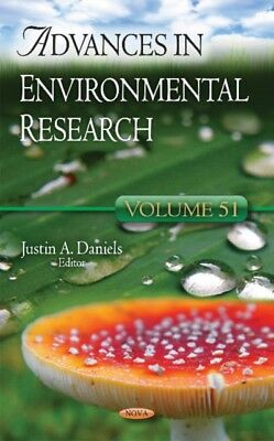Advances In Environmental Research, 9781634857864