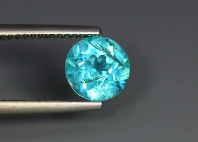 1.52 Cts █ World Gem Ocean █ 100 % Natural Neon Paraiba Blue Apatite_Brazil Mine