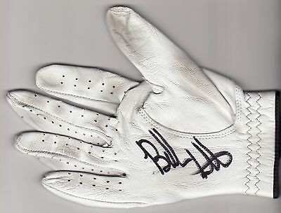 Bubba Watson Signed Auto At&t Pebble Tournament Used/worn Golf Glove Psa/dna
