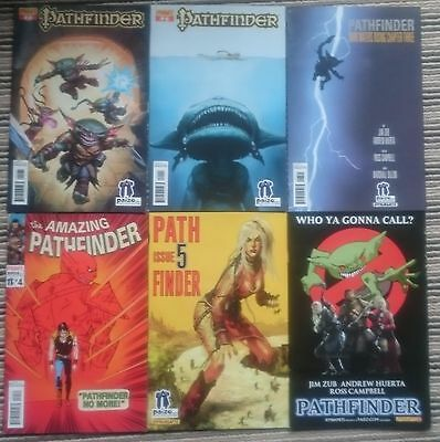 Pathfinder Comic Issues 1-6 Paizo subscriber covers Dynamite comics