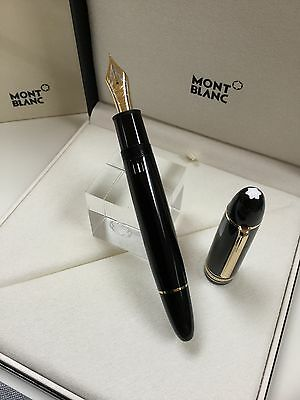 Montblanc Meisterstuck 149 Fountain Pen BRAND NEW With 18K EXTRA FINE Nib