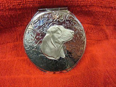Beautiful Basset Hound 2 Mirror Compact - Limited Edition