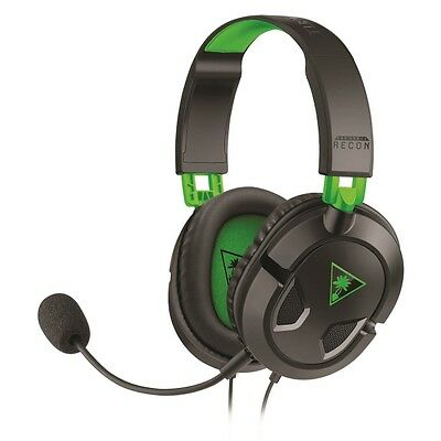 Turtle Beach Ear Force Recon 50X (Xbox One/PS4/Mac/PC DVD) Brand New