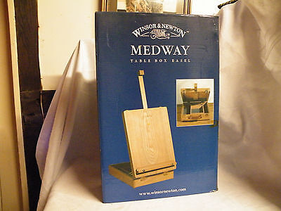 Winsor and Newton 'Medway' Artists Table Top Box Easel - Wood