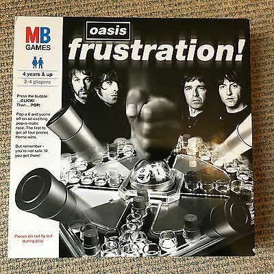 Oasis - Frustration - Very rare 2006 promo only board game SEALED