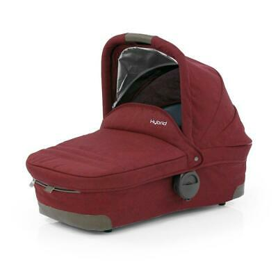 BabyStyle Hybrid Carrycot (Lava Red) Pram Body for Edge / City / Tandem
