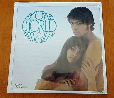JIM & JEAN People World (Verve Forecast FTS-3015) USA 1967 POP/FOLK ROCK ORIG LP