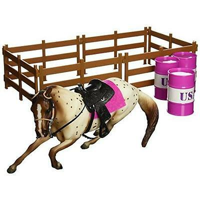 Breyer Classics Barrel Racing Horse Toy Set New
