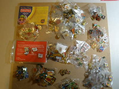 Lot of McDonalds Crew Pins - new and used? - total 229 pins