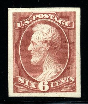 US Scott 159P4 proof on card Lightly Hinged