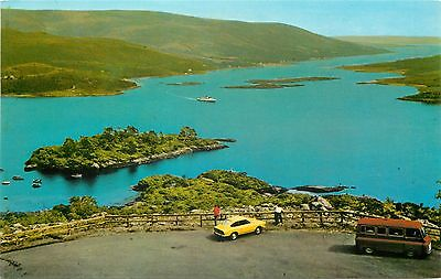 p0862 Kyles of Bute, Scotland postcard
