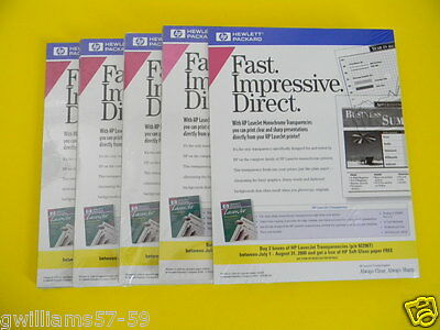 HP Laserjet Transparencies  lot of 25 sheets