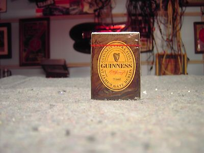 GUINNESS EXTRA STOUT Sealed Deck og PLAYING CARDS New