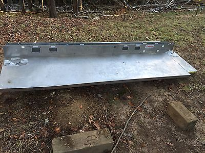 "7' 6"" X 24""(6"" Back Splash) Stainless Steel  Kitchen Or Work Station Counter Top"