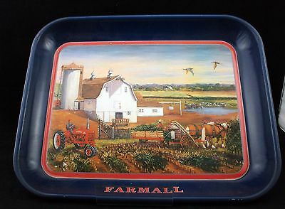 International Harvester Farmall Metal Tray Bundle Up 2002