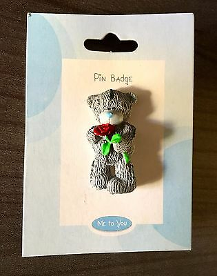 Pin's MeTo You - Ourson Amoureux avec Rose
