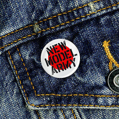 New Model Army Pin Button Badge 1 x 25mm Badge Goth Indie Rock