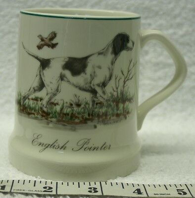 English Pointer Porcelain Coffee Cup Mug Dog Cape Cod Candle Co. Vintage NB211
