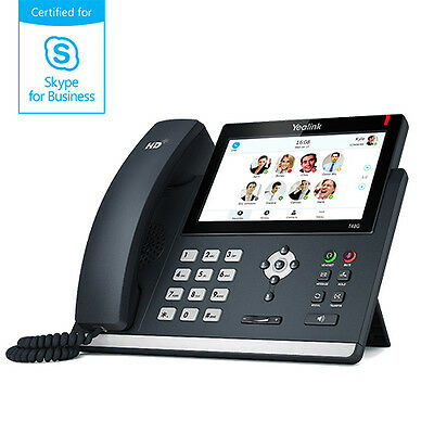 Yealink 6 LineTouch LCD IP Phone SIP-T48G
