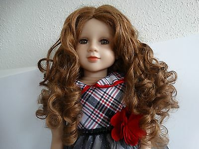 "My Twinn 23"" poseable doll  BROWN EYES & HAIR/FRECKLES 2011 Kate mold"