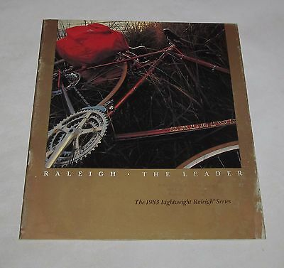 1983 Raleigh Bicycle Catalog, 753, Super Course, Touring 18, Record, Trail Rider