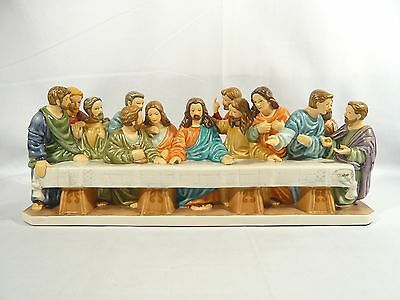 """Limited EDITION Goebel """" The Last Supper """" JESUS with Apostles only 2000 made"""