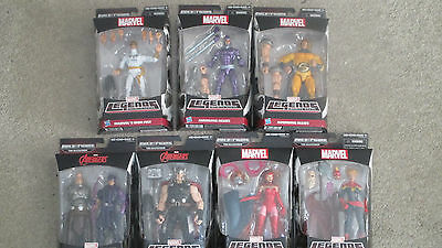 """Marvel Legends AVENGERS INFINITIE Series 6"""" Figures SET OF 7 The Allfather Odin"""