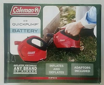 Coleman 4D Quickpump Great For Air Beds And Ski Tubes