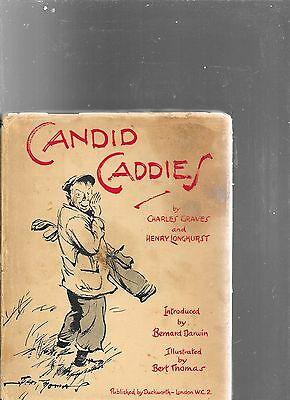Charles  Graves Henry Longhurst Candid Caddies First Edition