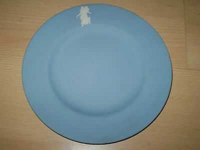 Highly Collectable, Wedgwood Blue Jasperware Tea Plate