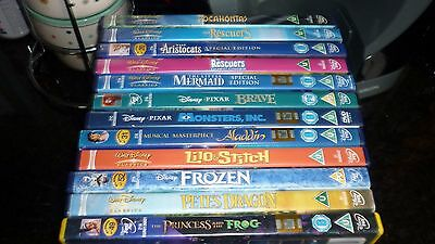 Collection of 12 Disney Movies