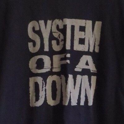 System of a Down: 2011 Concert Tour T-Shirt Sz. Medium Black 2 sided graphics