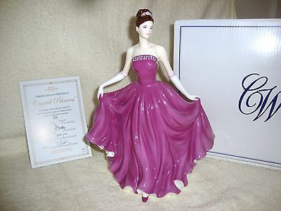 Royal Worcester Figurine  Crystal Princess Boxed With Certificate