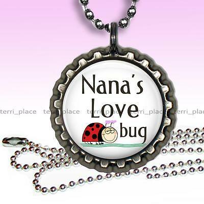 Grandpa/'s Official Fishing Buddy Bottle Cap Necklace Handcrafted Jewelry