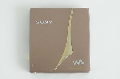 Sony Mz-E720 Brown - Portable Md Minidisc Player - Made In Japan
