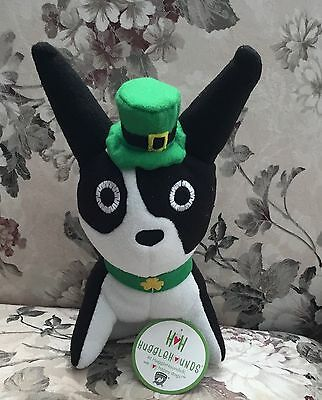 St. Patrick's Day Mr. Bonejangles Boston Terrier Dog toy