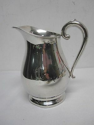 "Vintage Cartier Sterling Silver 7 1/4"" Water Pitcher #121"