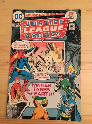 "1975 DC Comics #119 JUSTICE LEAGUE of AMERICA ""Winner Takes Earth"""