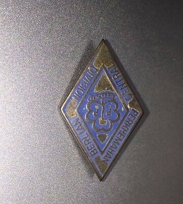 very rare  Singapore Girl Guides  early pin