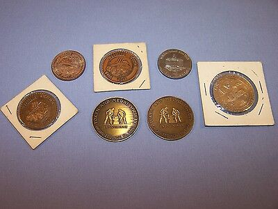 Vintage Lot Wyoming Creek Coin Club Coin Token Medal Society Kansas Centennial