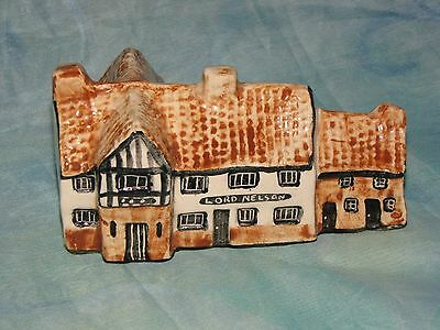 Tey Pottery Miniature. The Lord Nelson. Reedham Norfolk.
