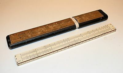 FABER CASTELL VINTAGE 10 in SLIDE RULE