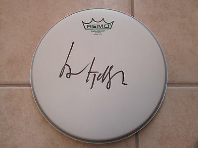 Lol Tolhurst Signed Drum Head The Cure Exact Proof